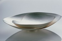 The Gentle Wash of Memory, 2002, Sterling Silver