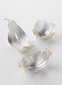 Shadows hold their breath, 2006, Sterling Silver