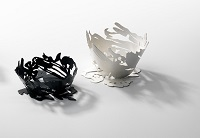 Shadows, 2013 Vessels – Sterling Silver, Sterling Silver blackened