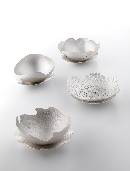 Cool their tea with sighs, 2010, Sterling Silver